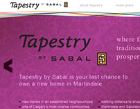 Tapestry By Sabal Website (2012)