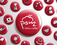 PAM Cakes & Coffee - Branding