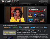 Padgett: Audience Response – Website Projects