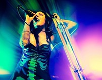 BLOODPARADE. Live en The Roxy, Bs.As