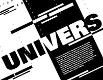 Typography - Univers