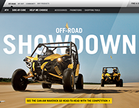 BRP Can-Am Site Redesign