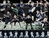 Soccer Flare Poster