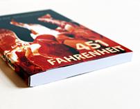 Book Cover Redesign: Fahrenheit 451