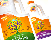 Grove Juice Branding and Packaging Design