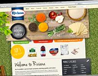Custom Website Design for Riviana Food Service