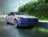 CDR Ford Fusion Render tests