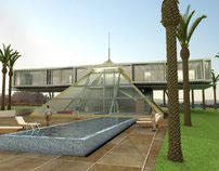 Pyramid Shaped House, Larnaka
