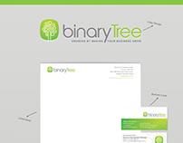 BinaryTree - Logo + Brand Identity + Website