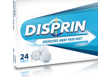 Disprin Packaging Design