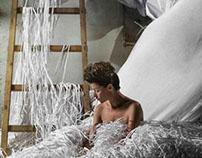 Commercials. Paper sculpture for adv. , Russia, 2013