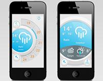 Circle Weather UI