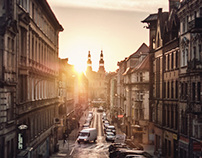 Długa Street Sunrise