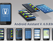 Android Asistant interface