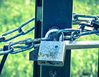 Portes et cadenas