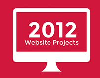 Xee Design's 2012 Website Projects