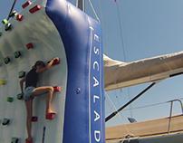 Climbing Wall - super yacht toy