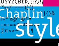 Typeface «Chaplin Style» (working title)