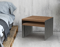 Bend Over | Lamp + Coffee table