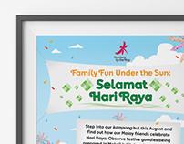 Gardens by the Bay - FUNS Hari Raya Poster