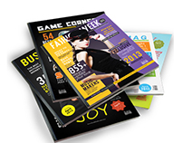 6 in One Magazine Cover Template Pack