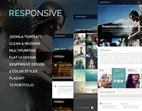 Responsive - MultiPurpose Joomla Template