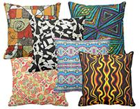 Tribal Print Pillows by Dflcprints