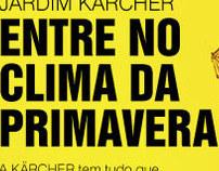 "KÄRCHER | campanha ""Primavera"""