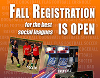 Fall 2013 Registration Ads for CA Indoor Advertising