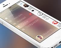uWhisp iOS7 concept
