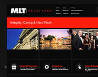MLT Vacations Intranet Concept