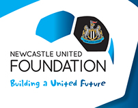 Newcastle United Foundation branding