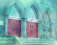 Where is the third door?