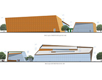 concept design for cultural center