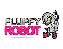 Fluffy Robot Logo
