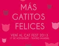 FLYERS / VIRALS CAT FEST 2013