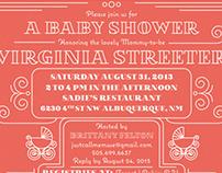 Baby Shower Stationary set