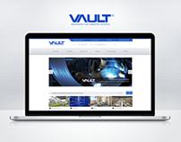 VAULT - Homepage Redesign 2013