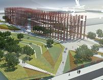 Concept project of park complex