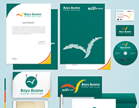 Stationery Design for www.bayubuanatravel.com