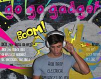 Magazine Cover- Go Go Gadget