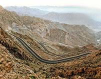 Al Hada Road, Taif Saudi Arabia Zig Zag Road