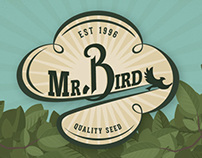 Mr. Bird Branding (50ft)