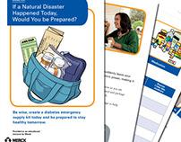 Merck Diabetes pamphlet