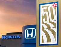 HONDA 50TH ANNIVERSARY