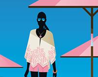 German Elle, style guide illustrations