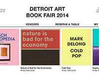 Detroit Art Book Fair