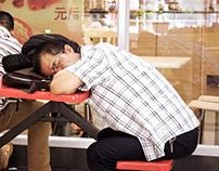 China asleep