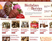 Berries.com Redesign