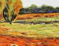 Jeff Ferst Abstract Landscapes